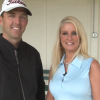 How to play a short hill lie – Ask a Pro Webisode with Colby and Julie