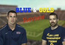 Blue and Gold Review