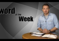 Prioritizing Your Life – Word of the Week With Pastor Tony