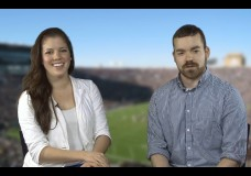 Derek and Bethany Recap this weeks Blue and Gold Sports