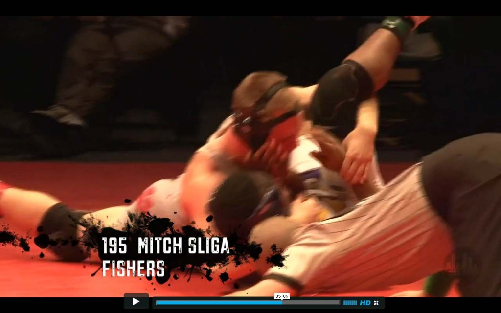 Mitch Sliga 2013 Wrestling finals