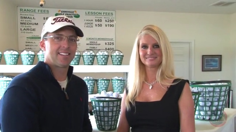 PGA Pro Colby Huffman and Julie North