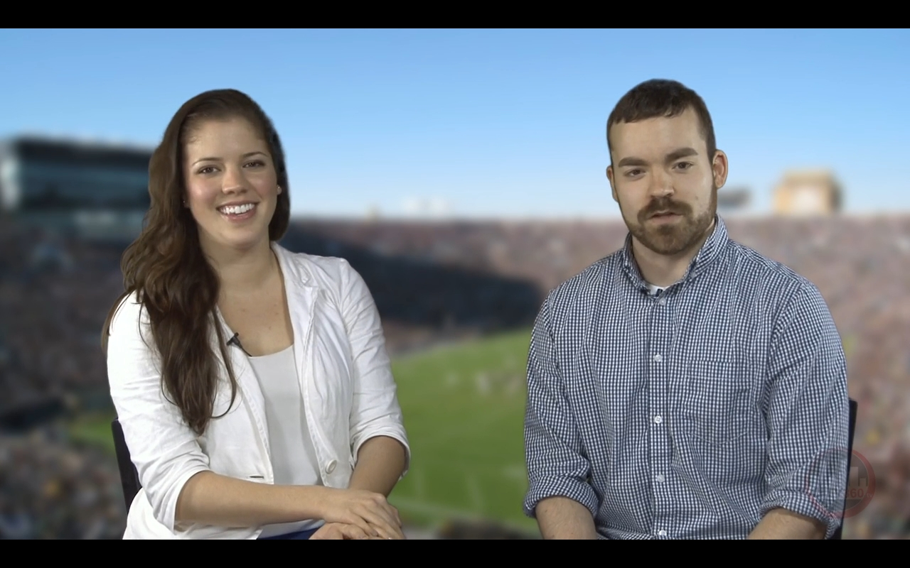 Derek and Bethany Recap this weeks Blue and Gold