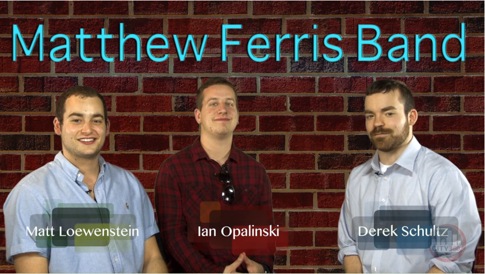 New Exciting Hosts Matthew Ferris Band Matt Loewenstein and Ian Opalinski