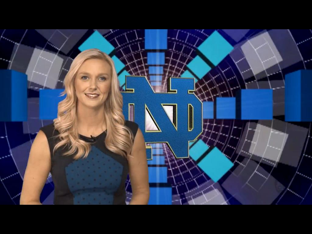 Allison Hayes - Notre Dame v Air Force - Blue and Gold Weekly Review