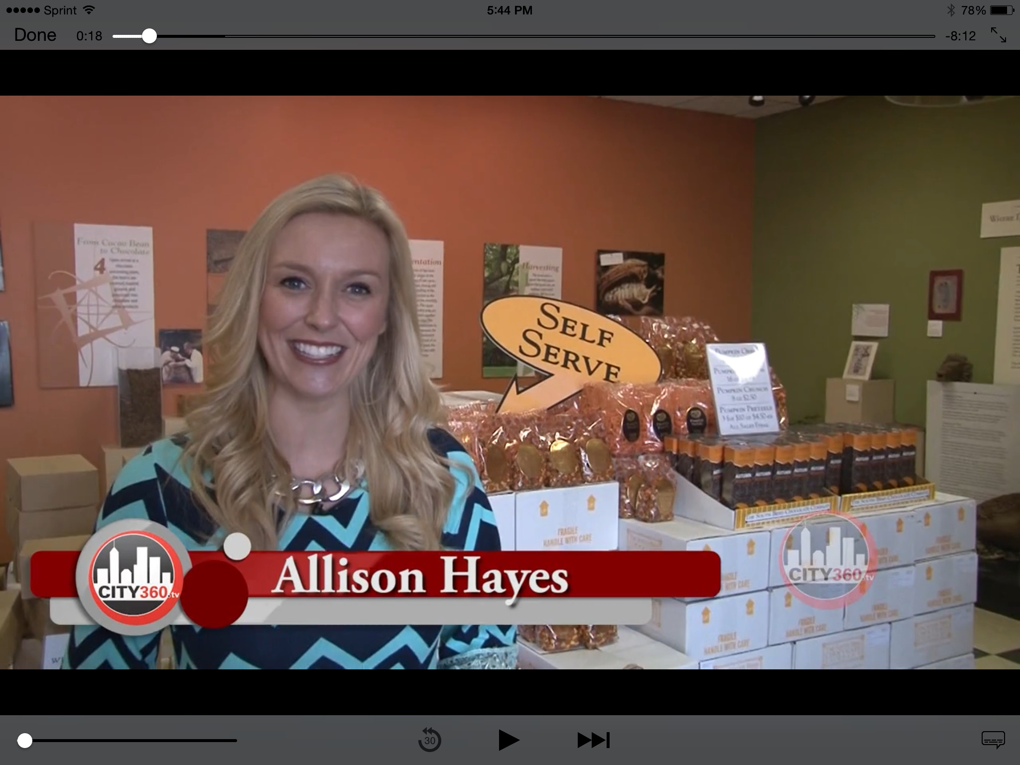 Spotlight w/ Allison Hayes South Bend Chocolate Factory - City360tv
