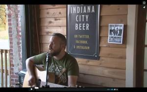 Sound Check Joe Augustine IN. City Brew 2015